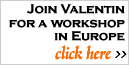 Join Master Silversmith Valentin Yotkov for a Workshop in Europe. Click here >>